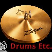 "13"" A Zildjian Series New Beat Hi-Hat Cymbals"