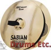 """18"""" Sabian AA Concert Band - Pair"""