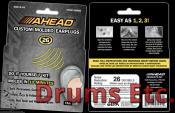 AHEAD Custom Molded Earplugs ACME