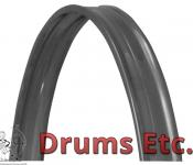 Cannon Metal Chrome Bass Drum Hoops