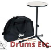 "Drum Workshop 12"" Practice Pad w/ Sticks & Bag DWCPPADSTDBG"