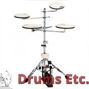 Drum Workshop Go Anywhere 5 Pc. Practice Pad Kit DWCPPADTS5