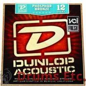Dunlop DAP1254 Light, 12-54, Acoustic Guitar Strings