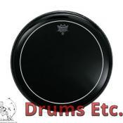 Remo Pinstripe Ebony Drumheads