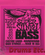Ernie Ball Super Slinky Nickel Wound Electric Bass Strings EB2834