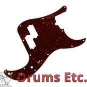 Fender Precision Bass Pickguard: AM Deluxe Shell 004-9455-000 RU