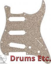 Fender Stratocaster Pickguard: 11 Hole (Modern) Aged Glass Sparkle 099-2173-000