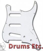 Fender Stratocaster Pickguard: 11 Hole (Modern) Aged White Moto 099-2140-001