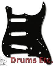 Fender Stratocaster Pickguard: 11 Hole ('57) Black 099-1345-000