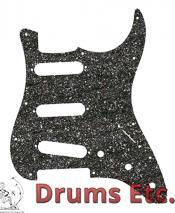 Fender Stratocaster Pickguard: 11 Hole (Modern) Black Glass Sparkle 099-2172-000