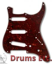 Fender Stratocaster Pickguard: 8 Hole ('57) Black Moto (Pearl) 099-1346-000