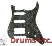 Fender Stratocaster Pickguard: 11 Hole (Modern) Black Pearl 099-2146-000