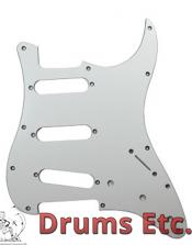 Fender Stratocaster Pickguard: 11 Hole (Modern) Chrome 099-1360-100