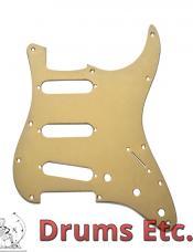 Fender Stratocaster Pickguard: 11 Hole (Modern) gold 099-1360-200