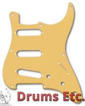 Fender Stratocaster Pickguard: 8 Hole ('57) Gold Anodized 099-2143-000