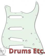 Fender Stratocaster Pickguard: 11 Hole ('57) Mint Green 099-1343-000