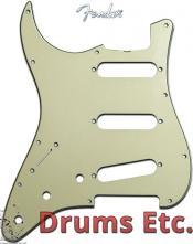 Fender Stratocaster Pickguard: 11 Hole ('57) Mint Green Left Handed 005-3817-000