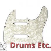 Fender Telecaster Pickguard: Assorted Nashville White Pearl 004-8638-000