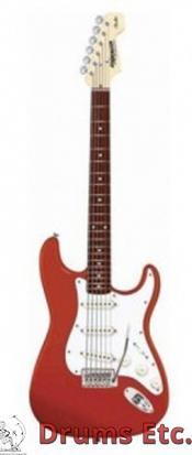 Fender Starcaster Stratocaster Gloss Red Finish