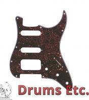 Fender Stratocaster Pickguard: 11 Hole (Modern) Tortoise Shell 099-1337-000