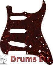 Fender Stratocaster Pickguard: 11 Hole (Modern) Tortoise Shell 099-2142-000
