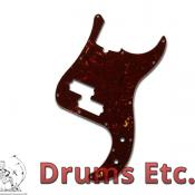Fender Precision Bass Pickguard: Tortoise Shell 099-2175-000 RU