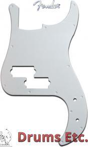 Fender Precision Bass Pickguard: White 005-8261-000 RU