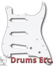 Fender Stratocaster Pickguard: 11 Hole ('57) White 099-2018-000