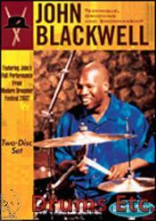 JOHN BLACKWELL - TECHNIQUE, GROOVING AND SHOWMANSHIP (DVD)