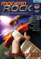 MODERN ROCK - Guitar Play-Along DVD Volume 2 (DVD)