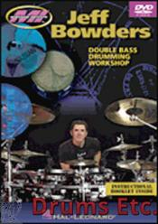 JEFF BOWDERS - DOUBLE BASS DRUMMING WORKSHOP (DVD)