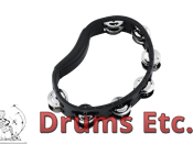 Meinl Headliner Series Hand Held ABS Tambourine 2 rows (HTMT1BK) ~