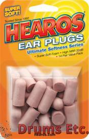 Hearos Ultimate Softness Foam Ear Plugs Value Pack #2225
