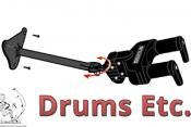 Hercules Adjustable Yoke Wall Mount Guitar Hanger GSP40WB