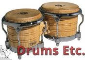 Latin Percussion Generation II Wood Bongos