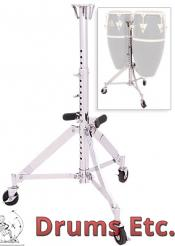 Latin Percussion Slide Mount Double Conga Stand LP290S
