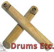 Latin Percussion Aspire White Wood Claves LPA165