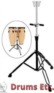 Latin Percussion Aspire Slide Mount Double Conga Stand LPA653