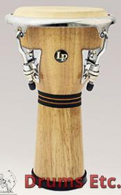 Latin Percussion Mini Tunable Natural Wood Djembe LPM196-AW