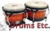 Latin Percussion Matador Custom Wood Bongos M301-VSB