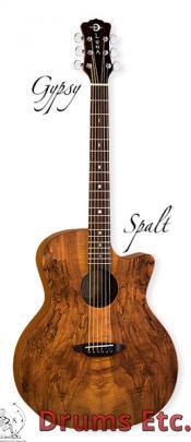 Luna Gypsy Spalt Acoustic Guitar