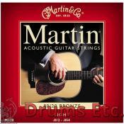 Martin 80/20 Bronze Light Acoustic Guitar Strings Single Pack RU