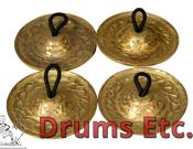 Mid-East Finger Cymbals Cast Engraved FCDE45