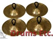 Mid-East Finger Cymbals Cast Engraved FCDE55