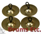 Mid-East Finger Cymbals Plain FCSP47