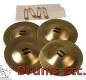 Mid-East Finger Cymbals Rim Belly Dance Zills ZRMN