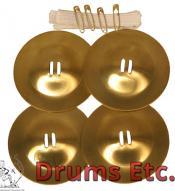 Mid-East Finger Cymbals Super Belly Dance Zills ZSPN