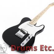 Squier Bullet Tele Electric Guitar By Fender Black Finish