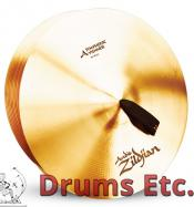 """18"""" A Zildjian Band & Orchestral Series Symphonic Viennese Tone Cymbals A0447"""