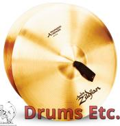 "20"" A Zildjian Band & Orchestral Series Symphonic Viennese Tone Cymbals A0449"